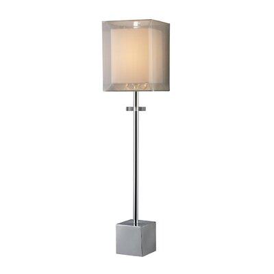 "Dimond Lighting Sligo Buffet 30"" H Table Lamp with Square Shade"