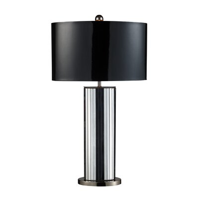 Dimond Lighting Shreve One Light Table Lamp in Black Nickel