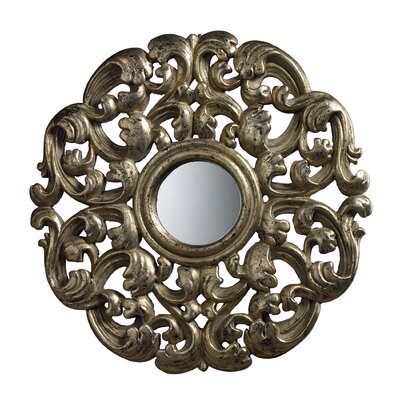 Lanne Mirror in Blackwood Silver