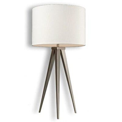 "Dimond Lighting Salford 28"" H Table Lamp with Drum Shade"