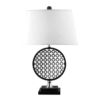 Dimond Lighting Prospect Optic Illusion 1 Light Table Lamp