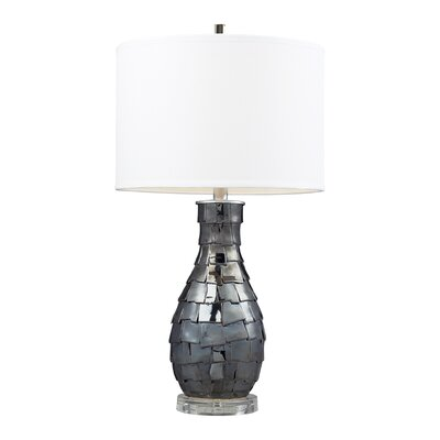 "Dimond Lighting Cooper 25"" H Table Lamp with Drum Shade"