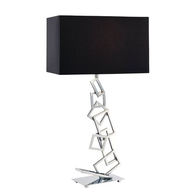 "Dimond Lighting Warren 29"" H Table Lamp with Rectangle Shade"
