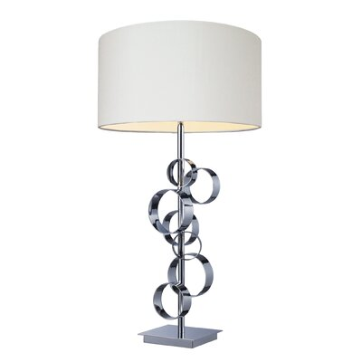 "Dimond Lighting Avon 30"" H Table Lamp with Drum Shade"