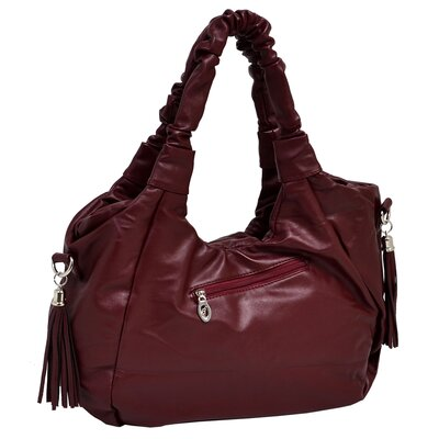 Parinda Forsythia Faux Leather Large Handbag