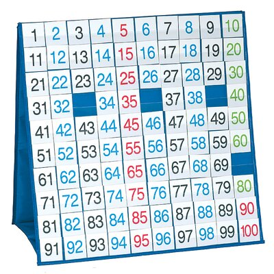 100 Board Tabletop Pocket Chart