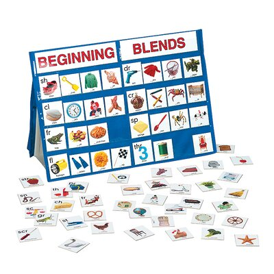 Patch Products Beginning Blends Tabletop Pocket Chart