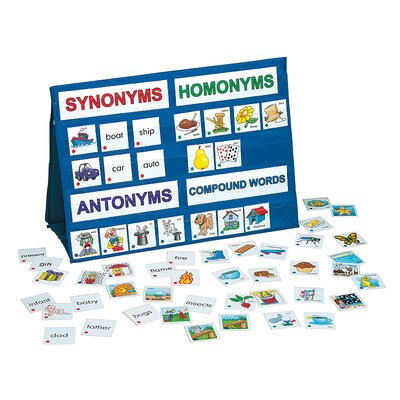 Patch Products Language Skills Tabletop Pocket Chart
