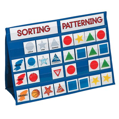 Patch Products Sorting and Patterning Tabletop Pocket Chart