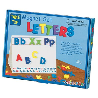 Letters Tabletop Magnetic Set