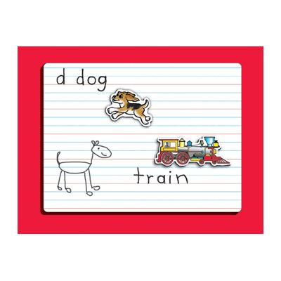Patch Products Dry Erase Lined Magnet Board