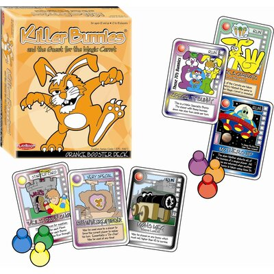 Playroom Entertainment Killer Bunnies Quest Booster Deck Game in Orange
