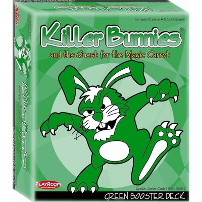 Playroom Entertainment Killer Bunnies Quest Green Booster Games