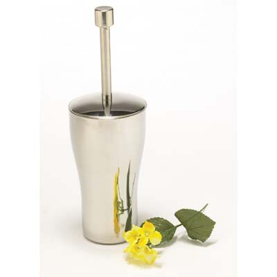 Innova Diana Toilet Brush and Holder in Polished Stainless Steel