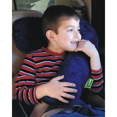 Kalencom Seat Belt Snoozer in Red / Navy Minky