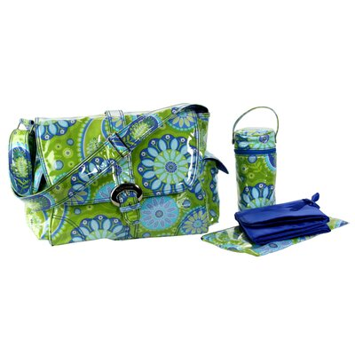 Laminated Buckle Diaper Bag Set