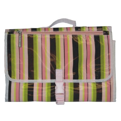 Kalencom Quick Change Kit in Pink Monkey Stripes