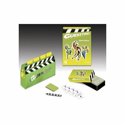 Christian Games Guesstures - Bible Edition Board Game