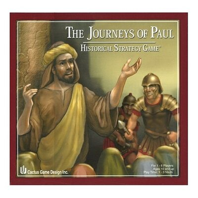 Talicor Christian Games Journeys of Paul Board Game