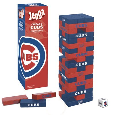 USAopoly MLB Collector's Edition Baseball Jenga Game