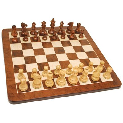 Wood Expressions Root Chess Set in Walnut