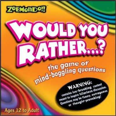 Zobmondo Would You Rather…? Board Game