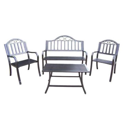 Oakland Living Rochester 4 Piece Lounge Seating Group