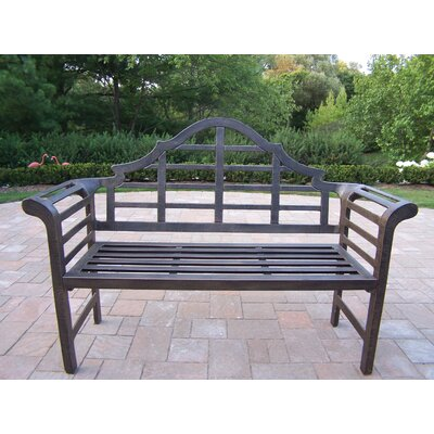 Oakland Living King Louis Aluminum Garden Bench