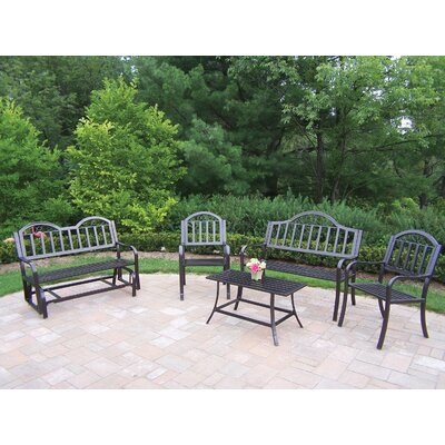 Oakland Living Rochester 5 Piece Lounge Seating Group