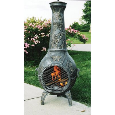 Oakland Living Butterfly Chimenea