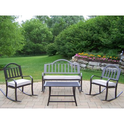 Oakland Living Rochester 4 Piece Rocker Seating Group