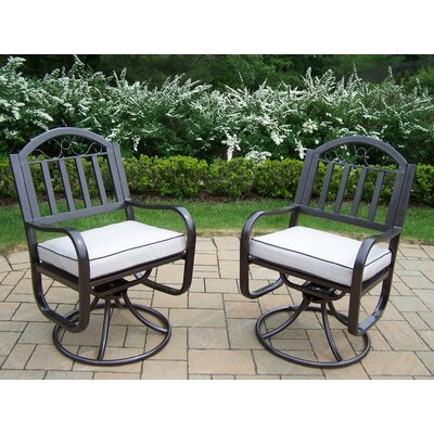 Oakland Living Rochester Swivel Chair  (Set of 2)