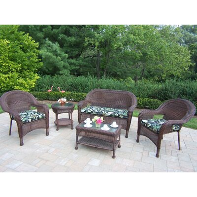 Oakland Living 5 Piece Lounge Seating Group