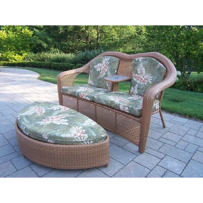 Oakland Living Mississippi 2 Piece Lounge Seating Group
