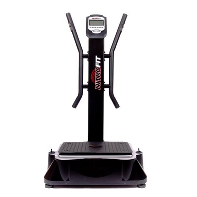 Nitrofit Deluxe Whole Body Vibration Machine in Black
