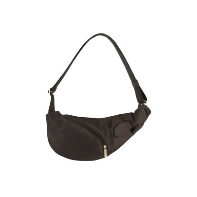 Anti-Theft Large Sling Bag in Black