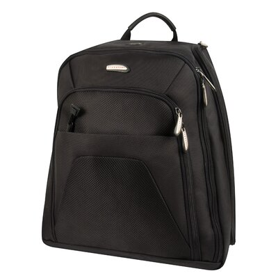 Travelon Quick Pass Check Point Friendly Computer Backpack in Black