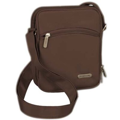 Three Compartment Expandable Shoulder Bag