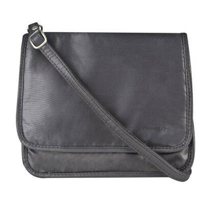 Safe ID Expandable Cross-Body Bag