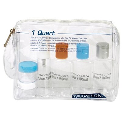 Travelon 1-Quart Zip-Top Bag
