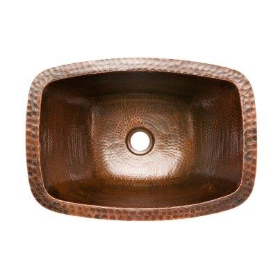 Premier Copper Products Rectangle Bathroom Sink Reviews Wayfair