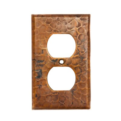 Premier Copper Products Brown Copper Switchplate Single Duplex, 2