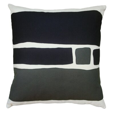 Balanced Design Big Block Applique Pillow