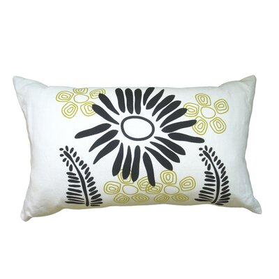 Hand Printed Fern Pillow