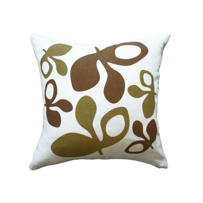 Balanced Design Hand Printed Pods Pillow