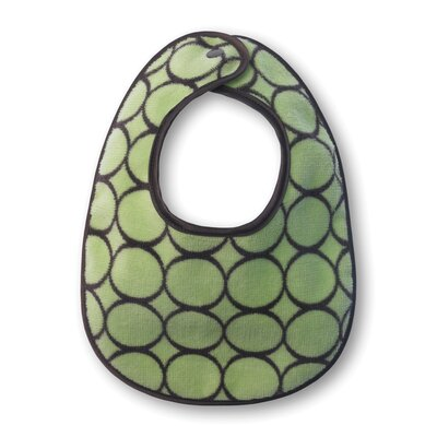 Swaddle Designs Green Terry Velour Bib Gift Set