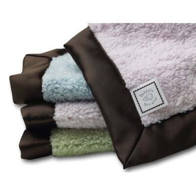 Swaddle Designs Baby Lovie Blanket with Trim