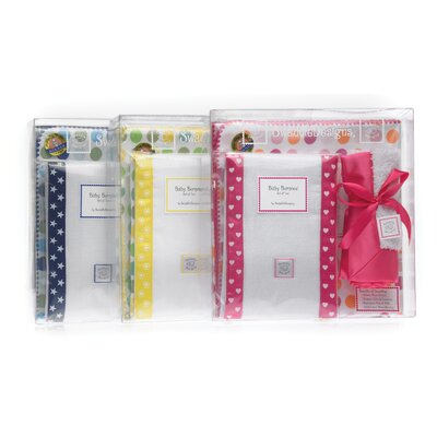 Swaddle Designs 3 Piece Gift Set in Star with Multi Dots