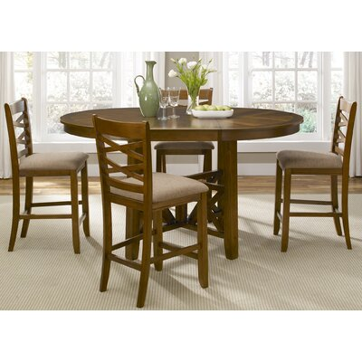 Liberty Furniture Bistro 5 Piece Counter Height Dining Set