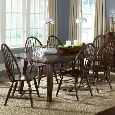 Liberty Furniture Cabin Fever Formal 7 Piece Dining Set